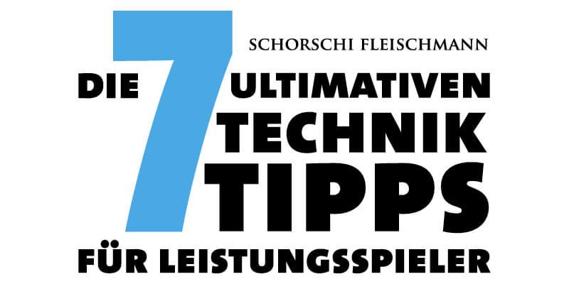 7 utlimative Technik Tipps, Tennis Videos