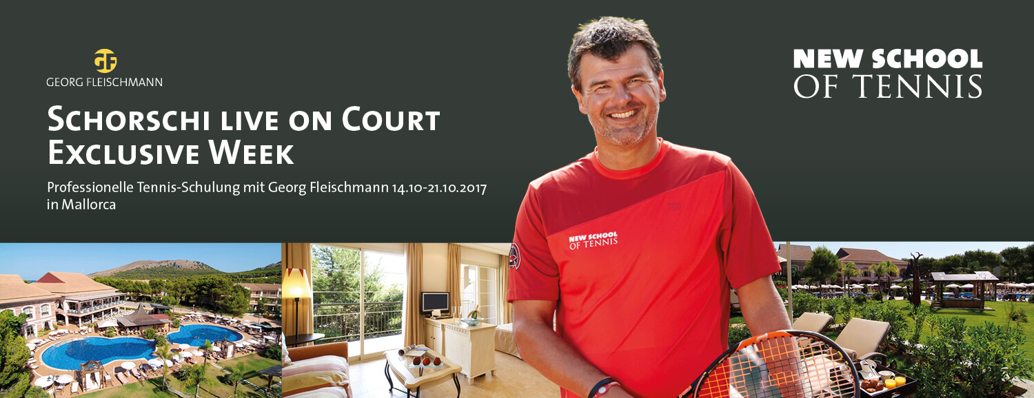 Schorschi live on Court Exclusive Week